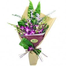 10pcs Thailand Orchids Bouquet