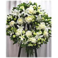 Sympathy Flowers arrangement 11